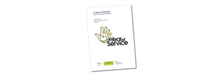 A Year of Service report