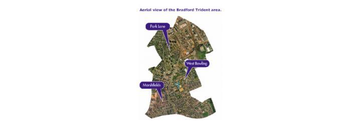 The Bradford Trident geographic area.