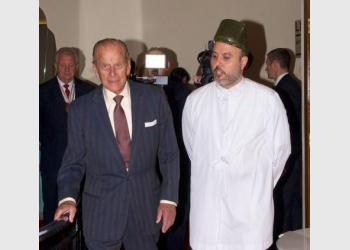 Malcolm Deboo with Prince Philip